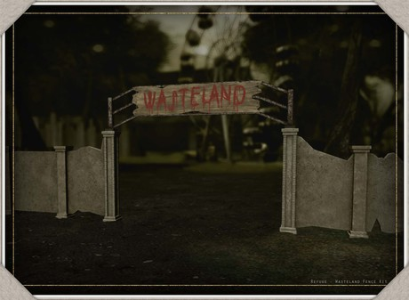 Refuge - Wasteland Fence Kit