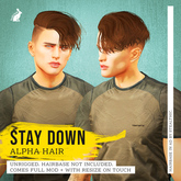 lock&tuft - stay down brown + red