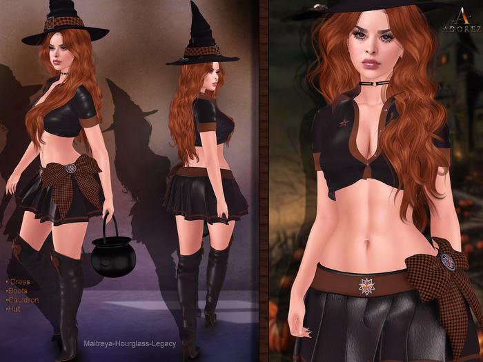 AdoreZ-Witch Outfit Orange *-*