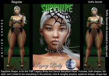 Sapphire shapes (Legacy - Genus Babyface) by :.Unified.: