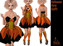 {Rose} Halloween Party Outfit K
