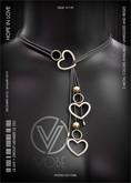 VOBE - White Hope in Love Necklace