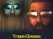 [DustyHut] Trigon Glasses [LINKRAVE LINE]
