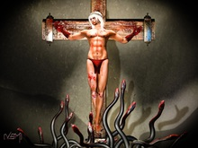 [VSM] Photo Pose Cross / crucifixion
