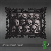 ~The Green Door~ Gothic Picture Frame