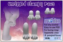 (mc) Unrigged Stompy Paws