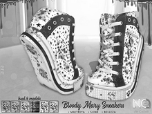DEMO No Cabide :: Bloody Mary Sneakers - HUD 6 Colors (wear)
