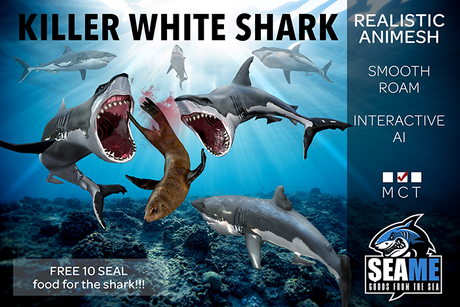 [SM] Killer White Shark (Click for Unboxing)
