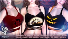 Angelux Halloween Female Top with straps
