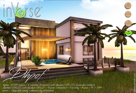 inVerse® MESH -Dihpof - furnished  modern house hi-def
