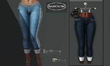 Baboom- Jeans-plain-darkblue-lace