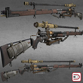 [Danielito] Steampunk Rifle