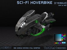 **ToKKen Industries** Sci-Fi Hoverbike (CyEagle) - Mesh