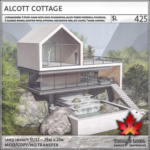 Trompe Loeil - Alcott Cottage [mesh]