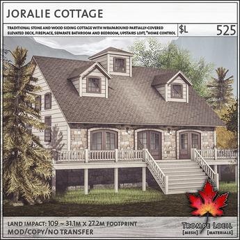 Trompe Loeil - Joralie Cottage [mesh]
