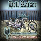Hell Raiser Blue v.1.3  motorcycle / chopper / bike
