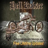 Hell Raiser Rusty v.1.3  motorcycle / chopper / bike