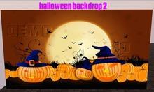 Halloween 2 Prim Backdrop