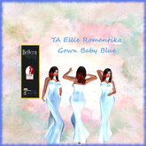TA Ellie Romantika Gown Baby Blue