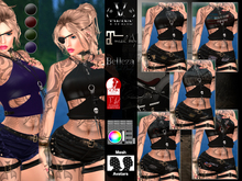V-Twins- Casual Clothes - Intruder Collection **MESH Outfit [Mesh Bodies Compatible] Maitreya Slink Belleza