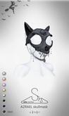 [sYs] AZRAEL skullmask (Unrigged mesh) - black