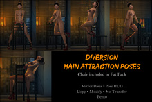 Diversion - Main Attraction Poses // Bento