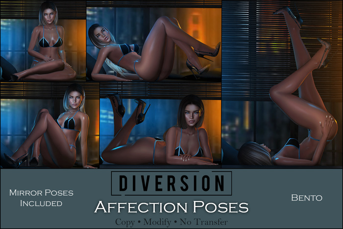 Diversion - Affection Poses // Bento