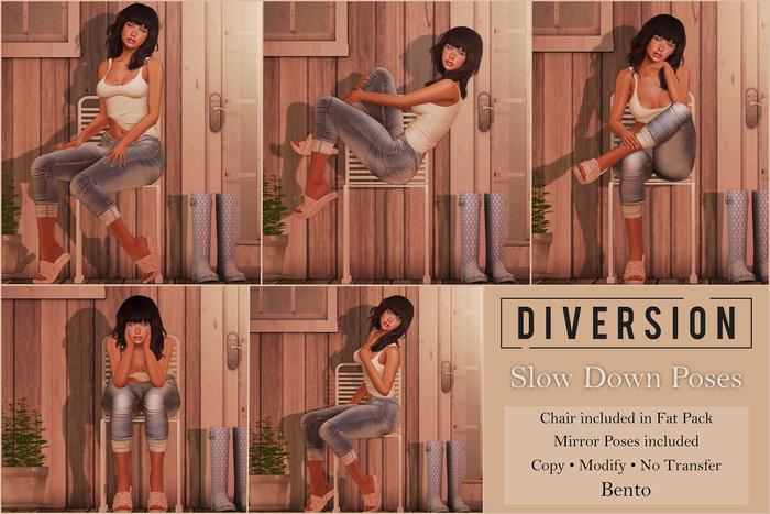 Diversion - Slow Down Poses // Bento