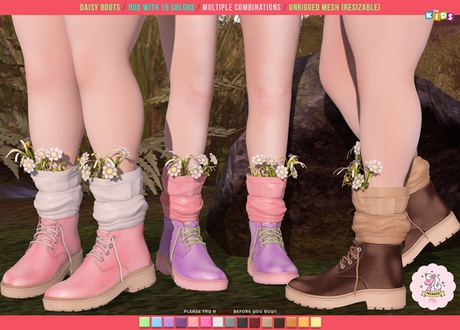 Pacagaia Kids - Daisy Boots -ADD-