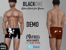 .:B1:. Latex Shorts for Gianni DEMO