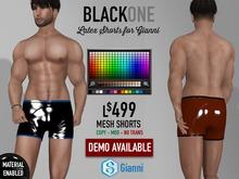 .:B1:. Latex Shorts for Gianni