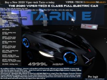 TARIN E Best car in second life ever