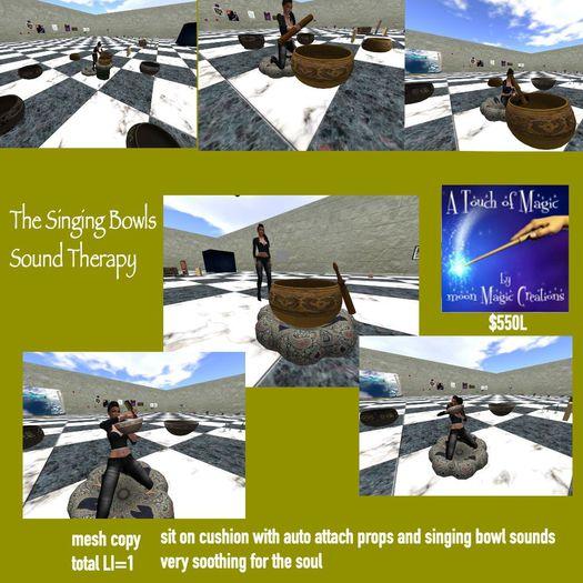 The Singing Bowls system-Bowl Pakage