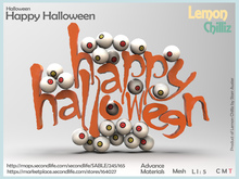Happy Halloween (Mesh) [Lemon Chilliz]