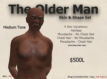 DM Older Man Skin & Shape Set - Medium