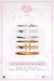 Swan Alphabet Rings Silver - H
