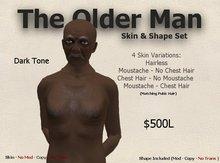 DM Older Man Skin & Shape Set - Dark