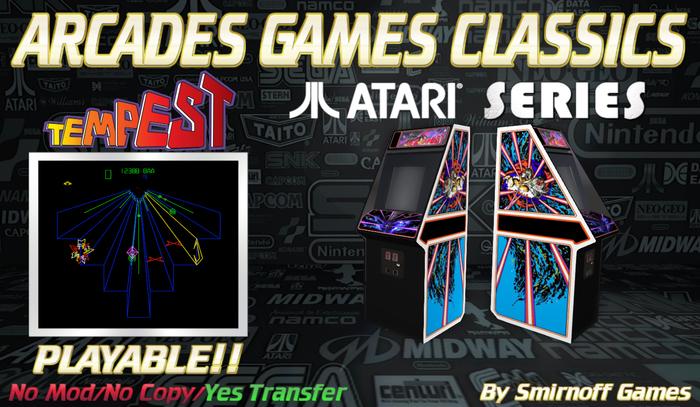 = Tempest = Atari Arcades Games [BOX]