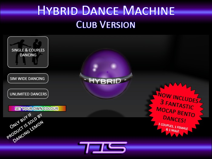 TIS Hybrid Dance Machine Club