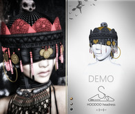 [sYs] HOODOO Headress (Unrigged mesh) - DEMO