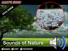 Sound - Light rain FP