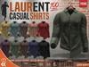 [CA] PROMO LAURENT SHIRTS GENTS