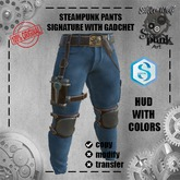 SW - Steampunk Pants with gadchet Signature (Box)