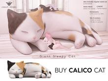 +Half-Deer+ Giant Sleepy Cat [Calico]