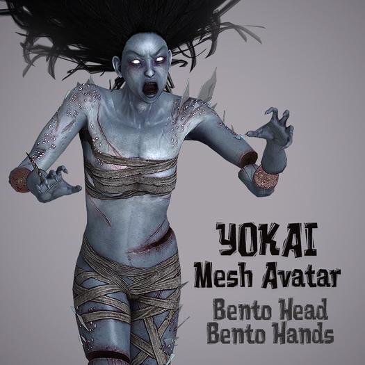 YOKAI AVATAR ( BENTO HEAD & BENTO HANDS )