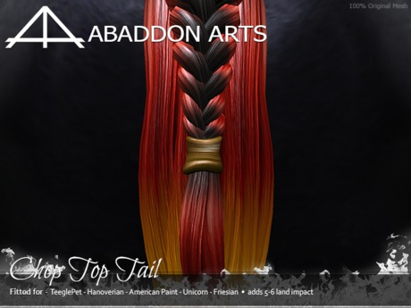 ABADDON ARTS - Chop Top Tail [Teeglepet HANO-APH-UNI-FRS]