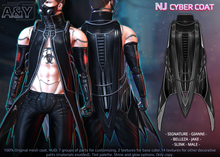 A&Y NJ Cyber Coat - Black