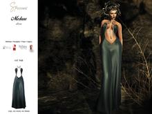 S&P Medusa dress teal (wear to unpack)