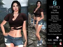 HERO - Lara Outfit Dirty Pink