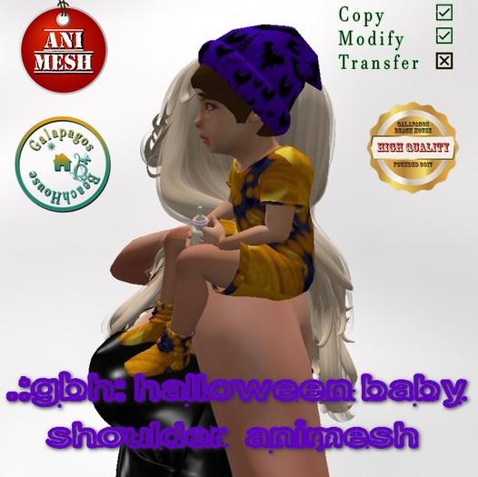 .:GBH:. Halloween shoulder baby